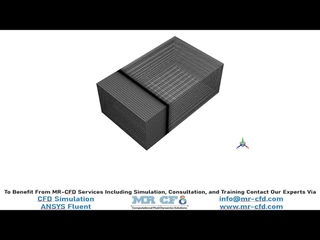 ANSYS FLUENT TRAINING : Air Conditioning of a Room with Balcony by Solar Radiation