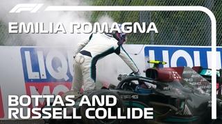 Формула-1 * Гран-при Эмилии-Романьи * Авария Боттаса и Рассела