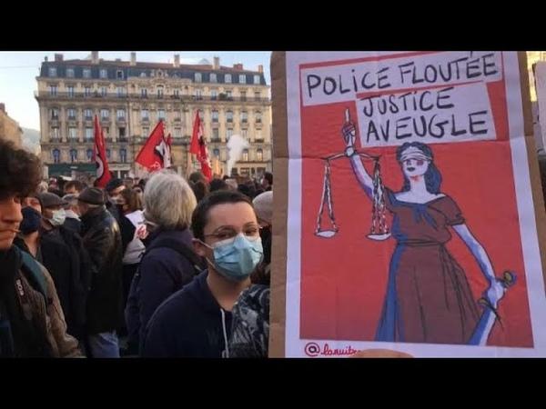 По всей Франции прошли массовые манифестации против Закона о глобальной безопасности …