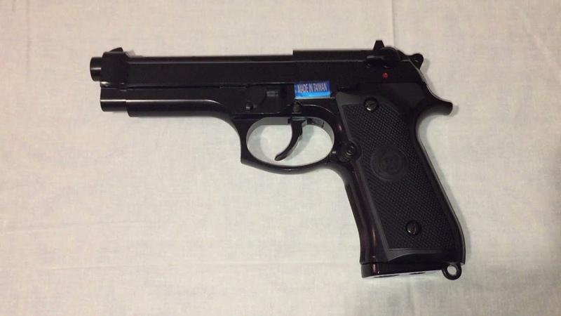 Сегодня купил страйкбольный пистолет WE Beretta M92 Gen 2 greengas we m011 box bk Обзор позже