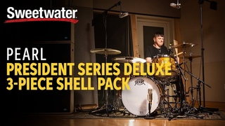 Ray Luzier of Korn Demos the Pearl President Series