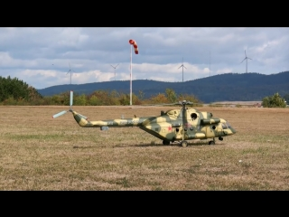 STUNNING GIGANTIC XXXL Mil Mi-8 AMT RC TURBINE SCALE MODEL RUSSIAN HELICOPTER FL