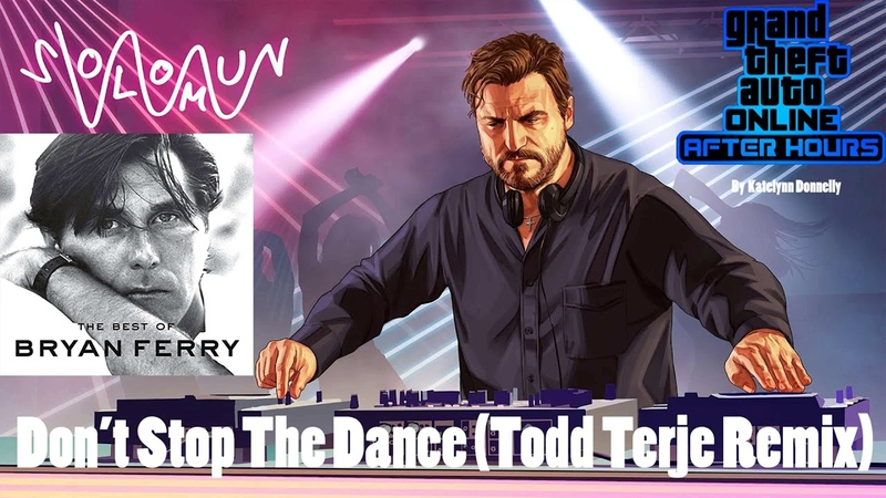 Solomun Don't Stop The Dance Todd Terje Remix By Bryan Ferry
