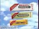 Реклама Wrigley Juicy Fruit, Doublemint, Spearmint 1990 е