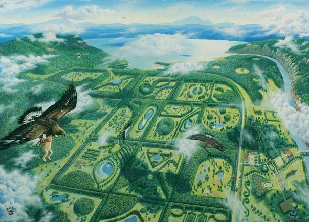 Родовые поместья России как вариант инновационной экологической экономики будущего Земли!, изображение №2