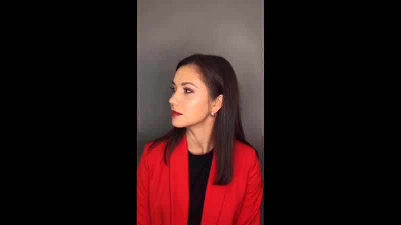 Голливудский макияж для Алины