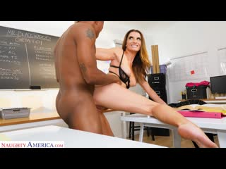 Silvia Saige - Sticks Up For Her Husband But Must Take A Big Black Cock