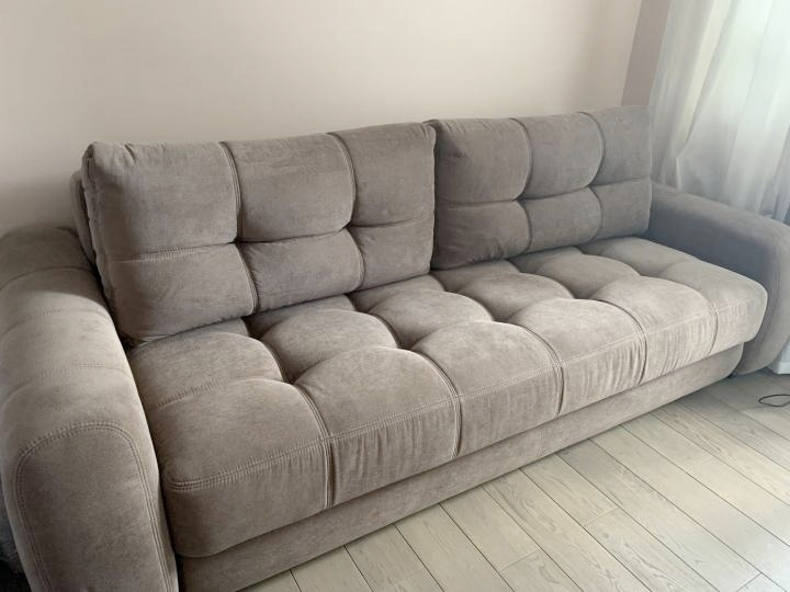 Практически новый диванчик. 248 ширина 116 | Объявления Орска и Новотроицка №16119