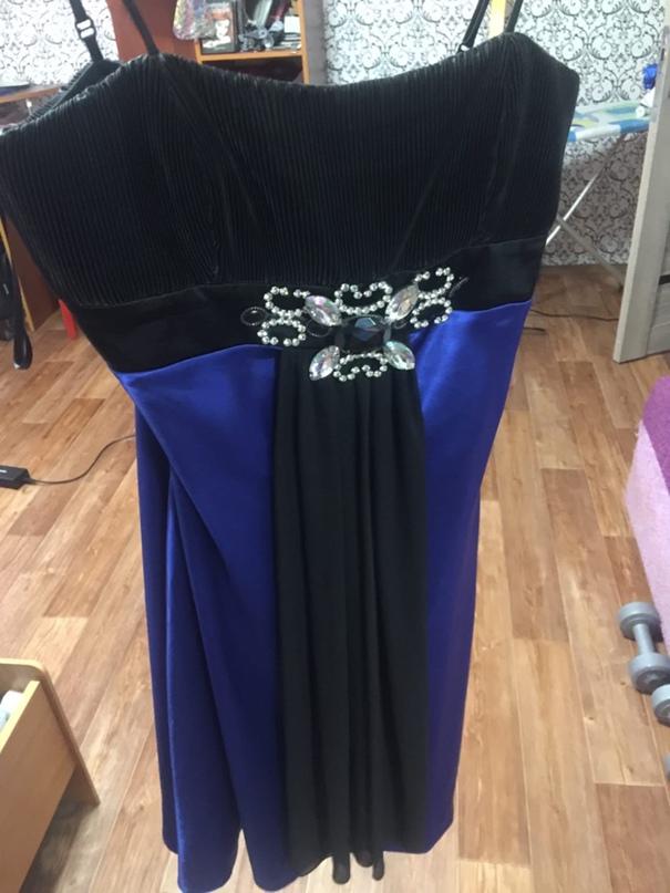 Купить вечерние платья. Синие платье   Объявления Орска и Новотроицка №12747