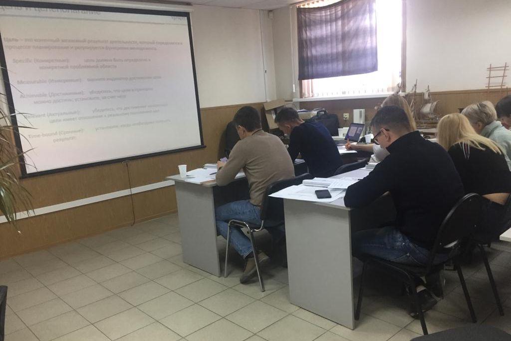 Обучение методикам бережливого производства продолжается на крупном предприятии «КПИ» Таганрог