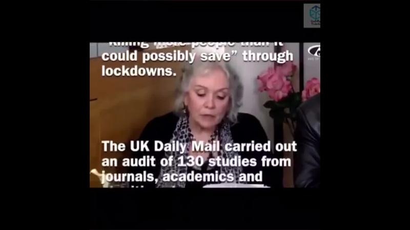 2021-02-24 - Claire Edward ancien membre de lONU de 1999 ea 2017 deevoile les contours de la supercherie mondiale du Covid19