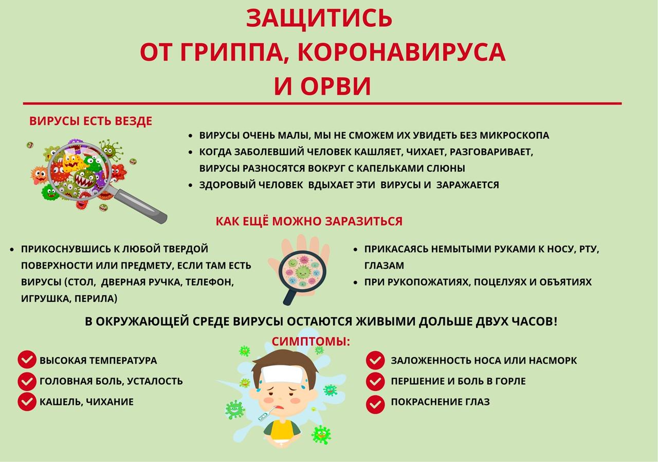 В Петровском районе зафиксировано превышение эпидемического порога заболеваемости ОРВИ