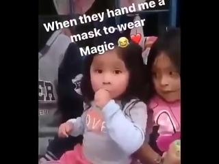 Настоящая магия, фокус 80 уровня  ИЗЧЕЗАЮЩАЯ МАСКА