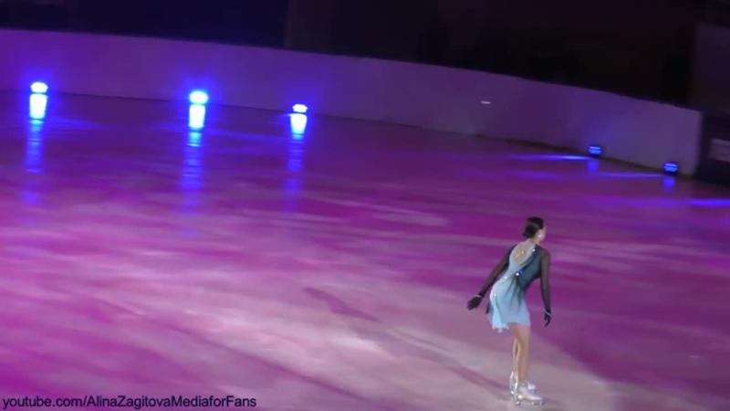 Фрагменты с Алиной на шоу в Перми.