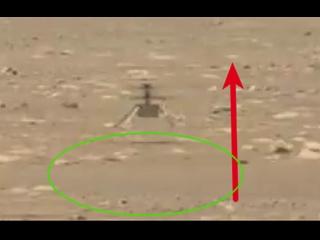 Première vidéo de l'hélicoptère Ingenuity Mars de la NASA en vol, comprend le décollage et l'atterrissage (haute résolution)