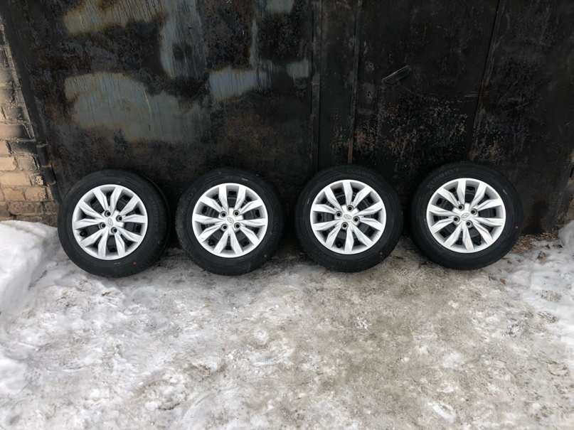 Купить комплект летних колёс 185/65 R15 от | Объявления Орска и Новотроицка №13603