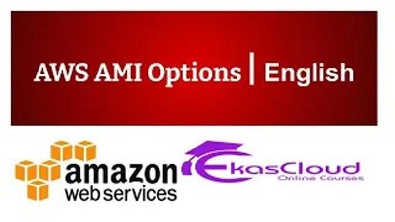 AWS AMI Options Ekascloud English