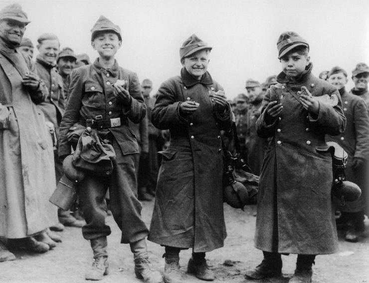 Гитлерюгенд во Второй мировой войне