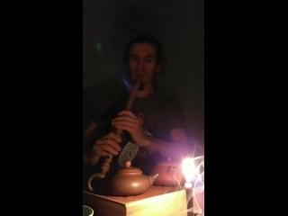 xiao tea morning flute