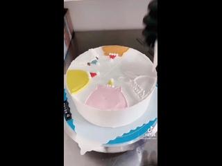 "Декор детского торта. Торт на день рождения. / Наша группа во ВКонтакте: ""ULTRACAKES""."