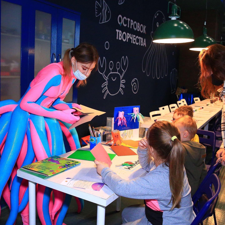 Празднование Всемирного дня осьминога в Москвариуме идет полным ходом!