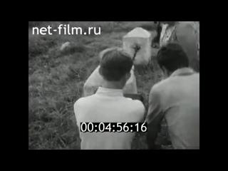 1971г. Великие Луки. открытие музея боевой славы имени Александра Матросова