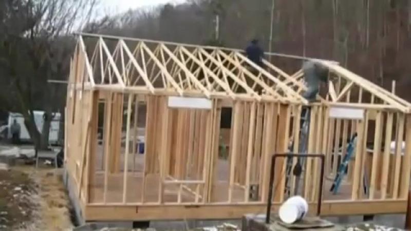 Как построить каркасный дом или дачу своими руками