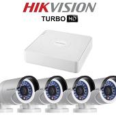 Комплект TurboHD видеонаблюдения Hikvision DS-2CE56D1T-IR/7104HGHI-F1/N