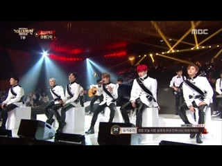 [VK][171231] MONSTA X - Beautiful (acoustic) + Dramarama (remix) @ MBC Gayo Daejejeon - The FAN