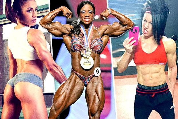 Female bodybuilders new 15 Black