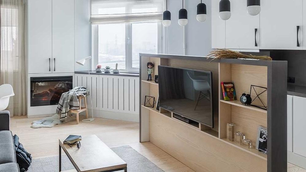 Квартира-студия 27 м в Москве.