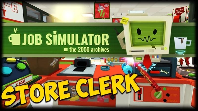 Job Simulator Alina probeer