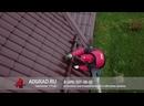 Монтаж обогрева кровли на металлочерепицу частного дома и установка снегозадержателей в г Химки. 720p
