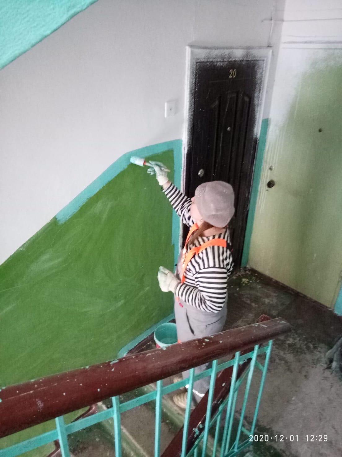 Улица Добролюбова дом 21 - 2под покраска