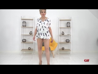 (2258) Gill Ellis-Young Tops To Wear Braless Even If You