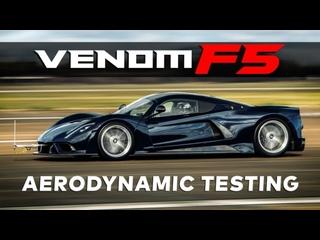 Hennessey Venom F5 Aerodynamic Testing.