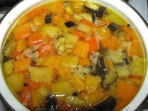 Суп с сырными шариками