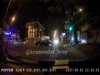 Ночное ДТП в Краснодарском крае