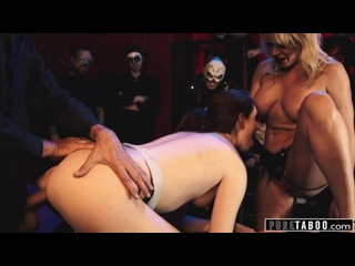 PURE TABOO THERAPIST MANIPULATES BABE INTO PUBLIC STRAP-ON DP