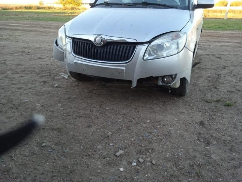 Компрессионный перелом позвоночника получил во время ДТП в Первомайском районе пожилой водитель