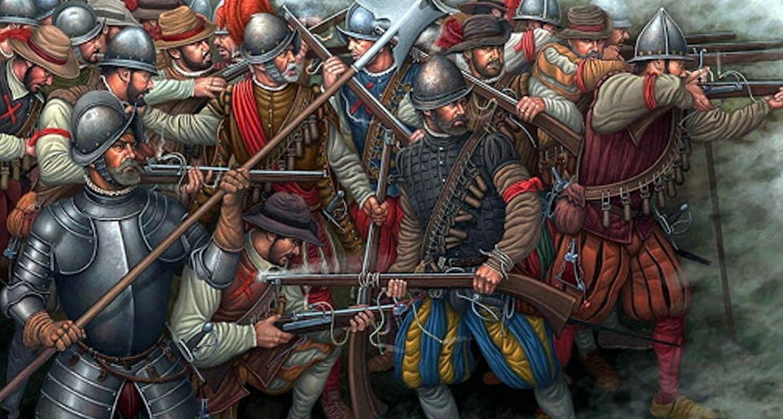 пехота Европы в 16 веке