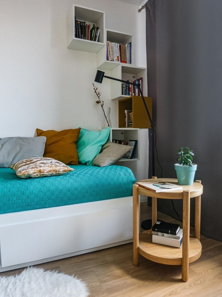 Дизайн маленькой студии 21 кв.