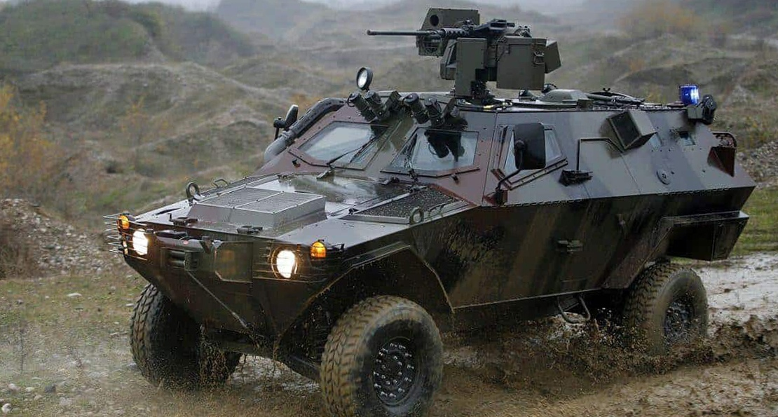 Бронеавтомобиль турецкой армии