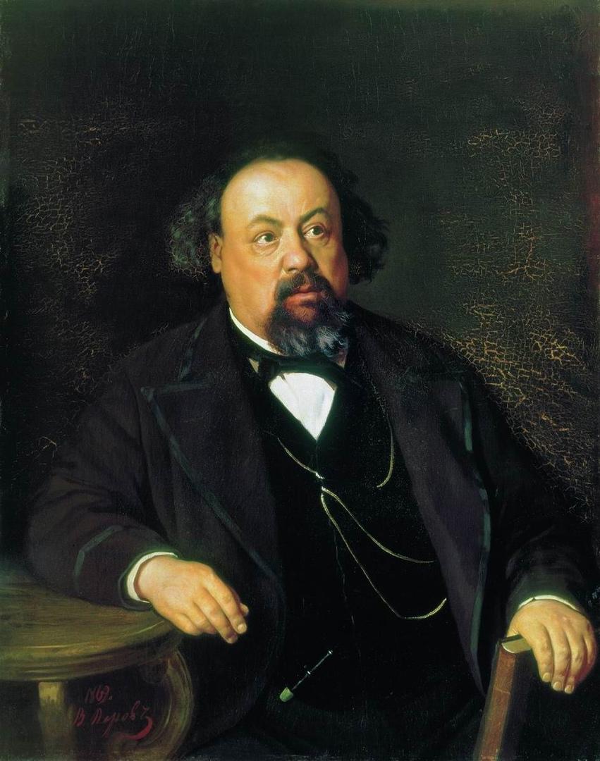 А.Ф.Писемский. Портрет работы В.Перова