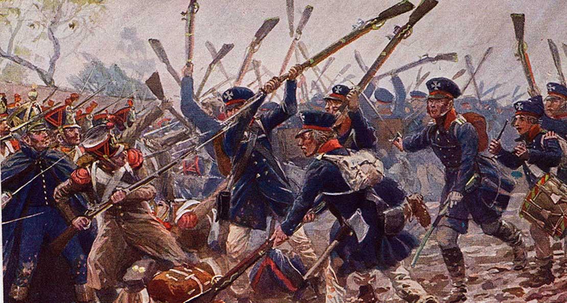 Французы против пруссаков