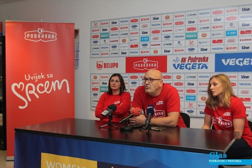 Миранда Татари, Златко Сарачевич и Карина Ежикова