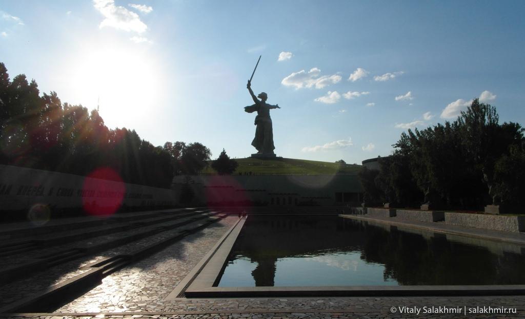 Бассейн Озеро слез на Мамаевом кургане, Волгоград 2020