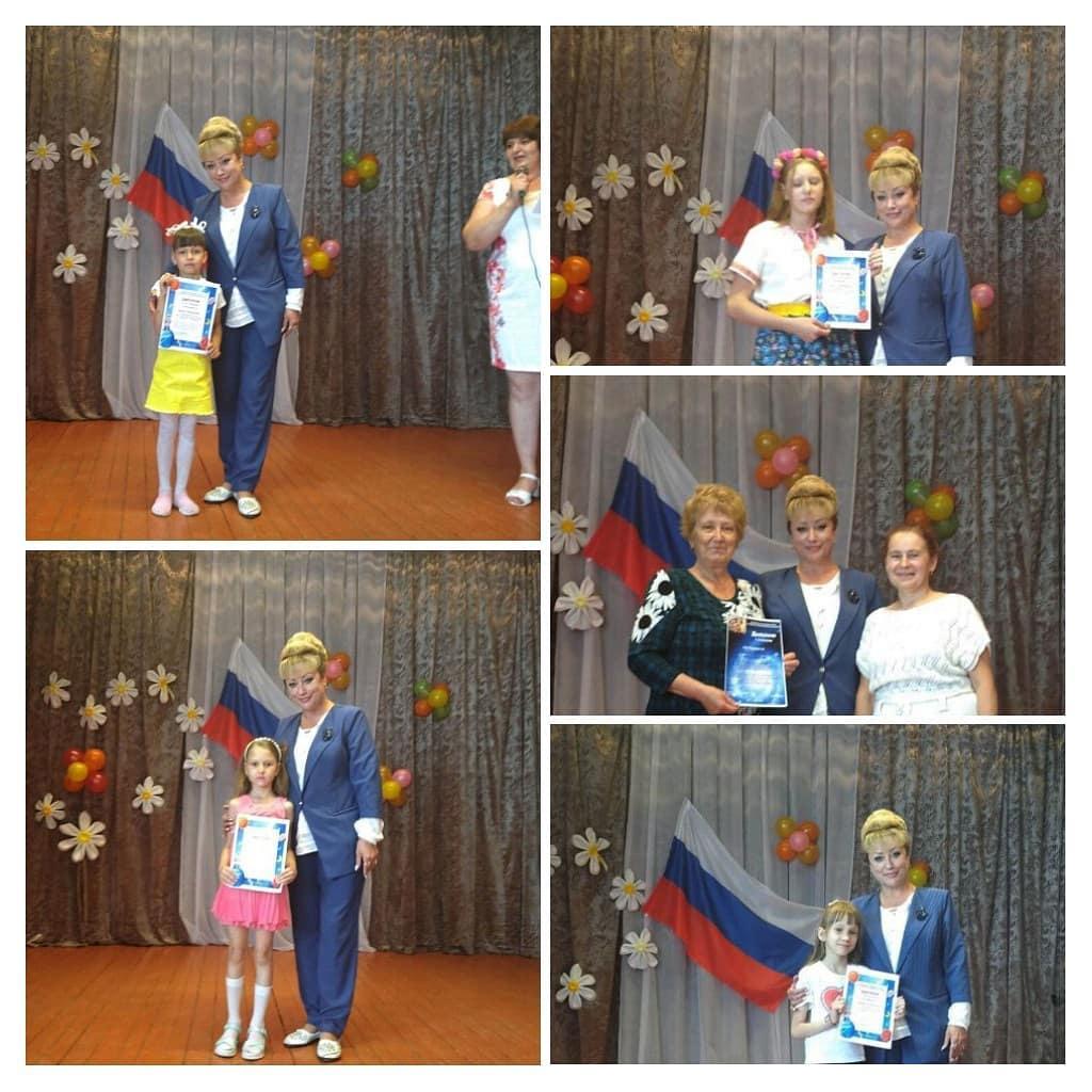 В доме культуры села 1-я Берёзовка Петровского района состоялся концерт, посвящённый предстоящему Дню России