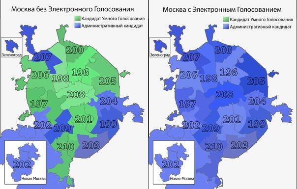 Результаты онлайн-голосования на выборах в Госдуму...