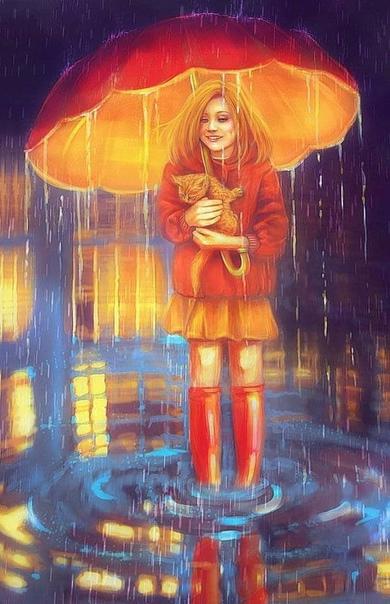 С Любашкой я познакомилась осенним вечером, когда возвращалась домой через парк На дорожке лежали опавшие листья и ноги на асфальт ступали бесшумно. Накрапывал дождик. Впереди меня шла девушка,